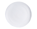Aster Matte White Dinner 10.75 in.