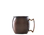 Antiqued Copper Hammered Mule Mug