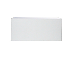 Table Screen White Alligator (8x36x30H Table not Included)