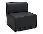 Metro Black Armless Chair