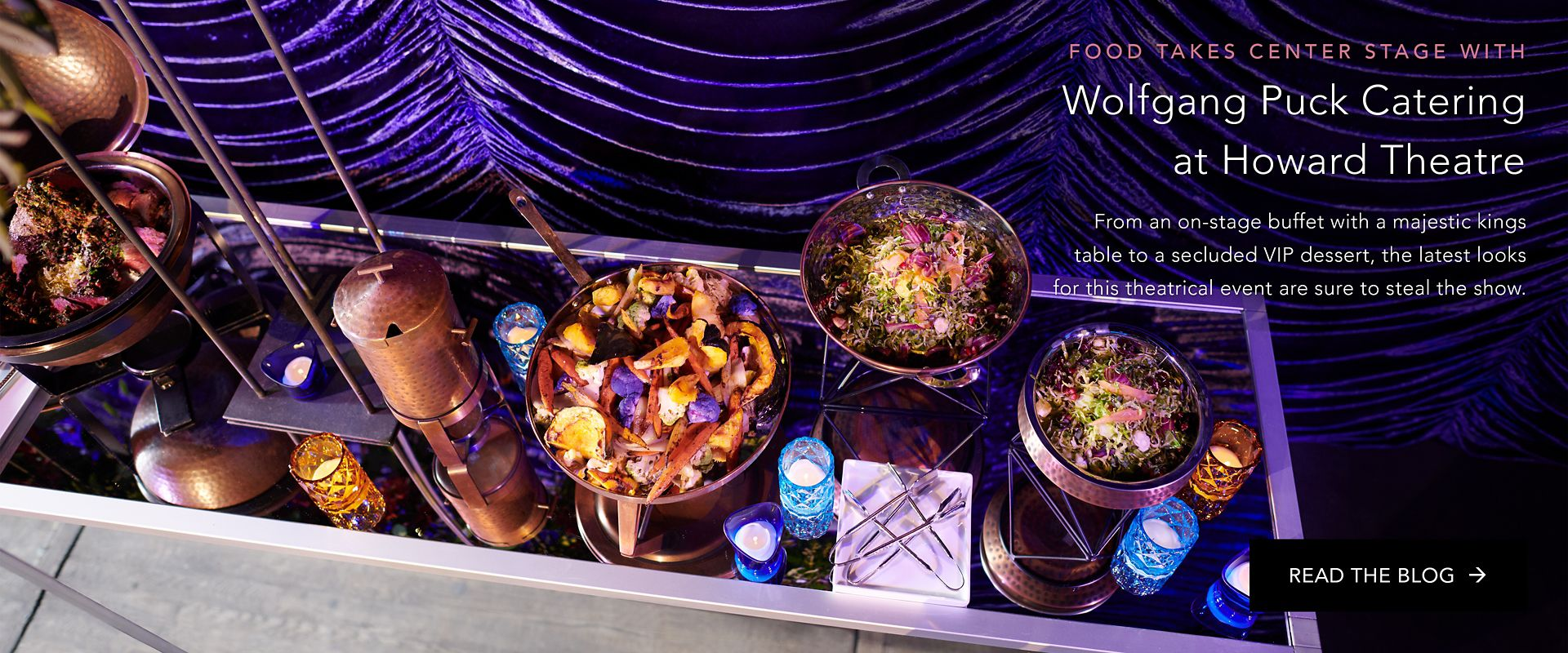 Food Takes Center Stage with Wolfgang Puck Catering at the Howard Theatre
