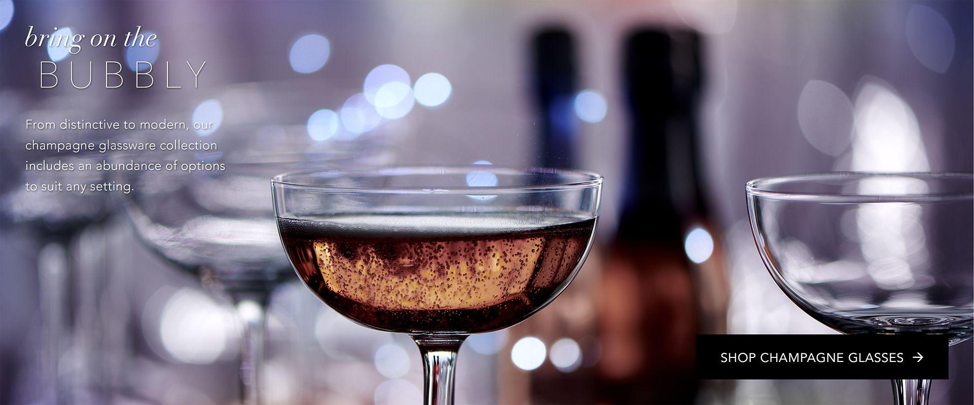 Shop Party Rental Ltd. Champagne Glasses