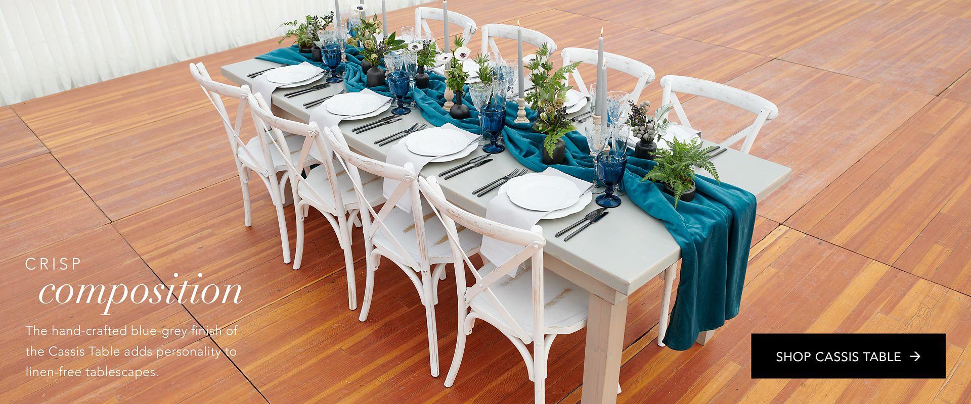 Shop Party Rental Ltd. Cassis Table