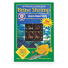 San Francisco Bay Brand® Sally's Frozen Spirulina Brine Shrimp™ Frozen Fish Food
