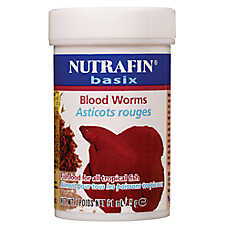 Nutrafin® Basix Bloodworms Tropical Fish Food