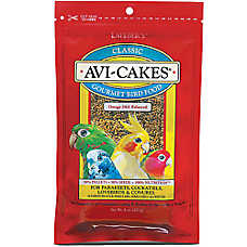 Lafeber Avi-Cakes Parakeet & Cockatiel Bird Food