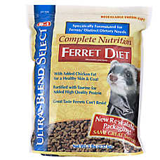 8 in 1 Ultra-Blend Select Complete Nutrition Diet Ferret Food