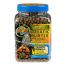 Zoo Med™ Growth Formula Natural Aquatic Turtle Food