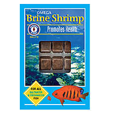 San Francisco Bay Brand® Sally's Frozen Omega Brine Shrimp™ Fish Food