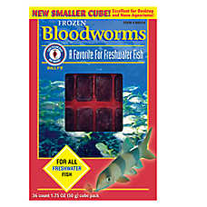 San Francisco Bay Brand® Sally's Frozen Bloodworms™ Fish Food