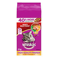 WHISKAS® Meaty Selections Cat Food