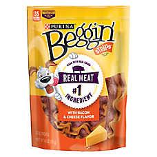 Purina® Beggin' Strips Dog Treat - Bacon & Cheese