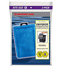 Marineland® Rite Size Emperor Power Filter Cartridges