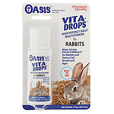 Oasis Vita Drops High Potency Multivitamins Rabbit Supplement