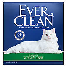 Ever Clean® Extra Strength Cat Litter - Unscented, Clumping