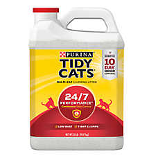 Purina® TIDY CATS® 24/7 Performance Cat Litter - Clumping, Multi Cat