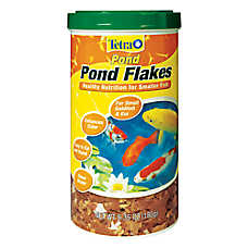 TetraPond Flaked Fish Food
