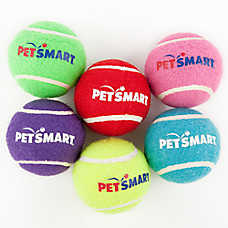 Grreat Choice® Petsmart Logo Tennis Ball Dog Toy