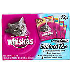 WHISKAS® Choice Cuts Seafood Variety Pack Cat Food