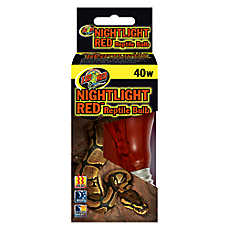 Zoo Med™ Nightlight Red Reptile Terrarium Bulb