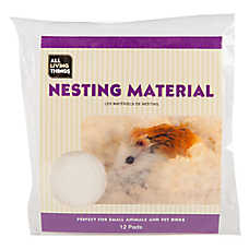 All Living Things® Fluff N' Snuggle Small Animal Nesting Material