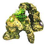 Top Fin® Shell Stone Aquarium Ornament