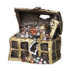 Top Fin® Treasure Chest Aquarium Ornament