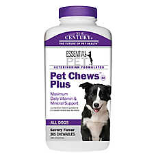 21st Century Pet Chew Plus Vitamin & Mineral Dog Chewables