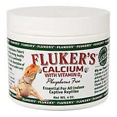 Fluker's® Phosphorous Free Calcium with Vitamin D3 Indoor Reptile Supplement
