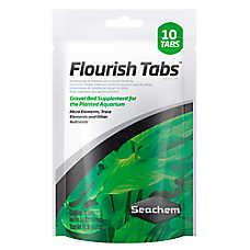 Flourish Tabs™ Aquarium Gravel Bed Plant Supplement