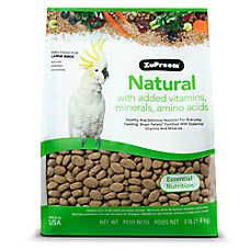 ZuPreem® Natural Large Bird Food
