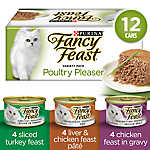 Fancy Feast® Poultry Pleaser Variety pack Adult Cat Food
