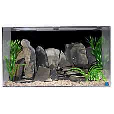 SeaClear 50 Gallon Aquarium and Skimmer Box