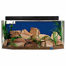 SeaClear 26 Gallon System ll Hexagon Aquarium