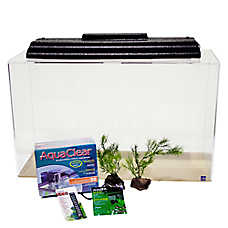 SeaClear Show Tank 29 Gallon Aquarium Kit