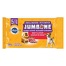 PEDIGREE® JUMBONE® Meaty Center Small Dog Bones