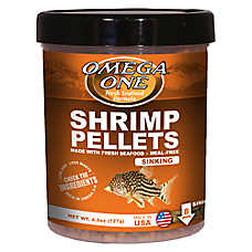 Omega™ One Shrimp Pellets Fish Food