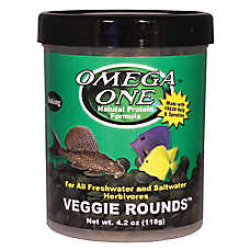 Omega™ One Veggie Rounds Fish Food