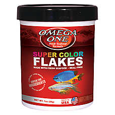 Omega™ One Super Color Tropical Fish Flakes