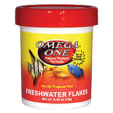 Omega™ One Freshwater Flakes Fish Food