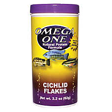 Omega™ One Cichlid Fish Flakes
