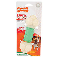 Nylabone® DuraChew Double Action Chew Bone Dog Toy