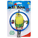 JW Pet® Insight Activitoys Ring Clear Bird Toy