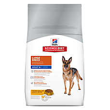 Hill's® Science Diet® Large Breed Mature Adult Dog Food - Chicken Meal, Rice & Barley