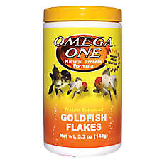Omega™ One First Goldfish Flakes