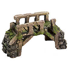 Top Fin® Ancient Bridge Aquarium Ornament