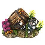 Top Fin® Barnacle Barrel Aquarium Ornament