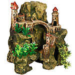 Top Fin® Domed Castle & Rock Aquarium Ornament