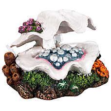 Top Fin® Clam Shell Aquarium Ornament