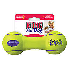 KONG® Air Dog® Dumbbell Squeaker Dog Toy